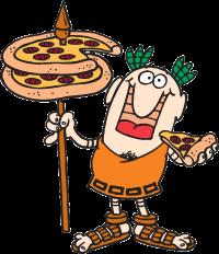 Little Caesars Mascot Image
