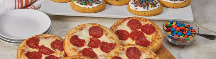 little caesars pizza size